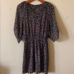 EXPRESS, leopard print casual dress, Size S.